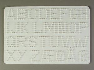 lettre en perle hama