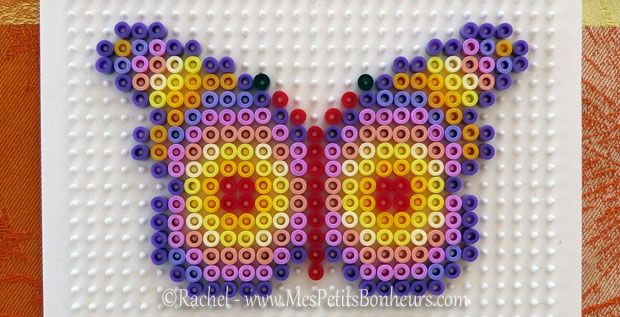 modele de perle a repasser papillon