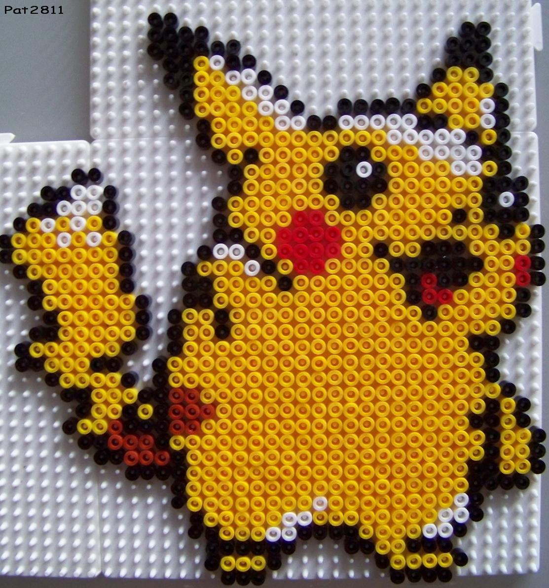 modele de perle a repasser pokemon