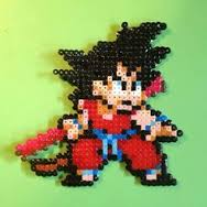 modele dragon ball z perle hama