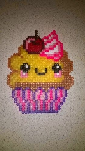 modele perle a repasser cupcake
