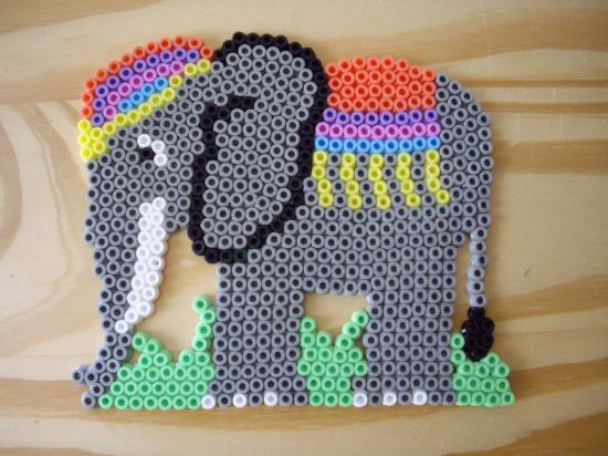 modele perle a repasser elephant