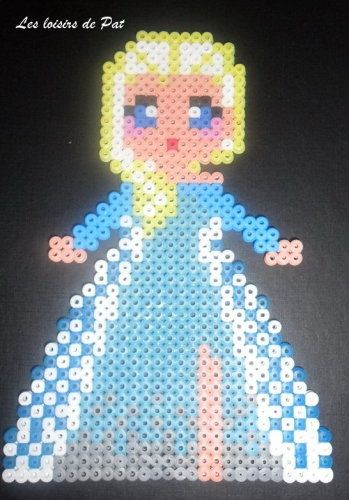 modele perle a repasser la reine des neiges