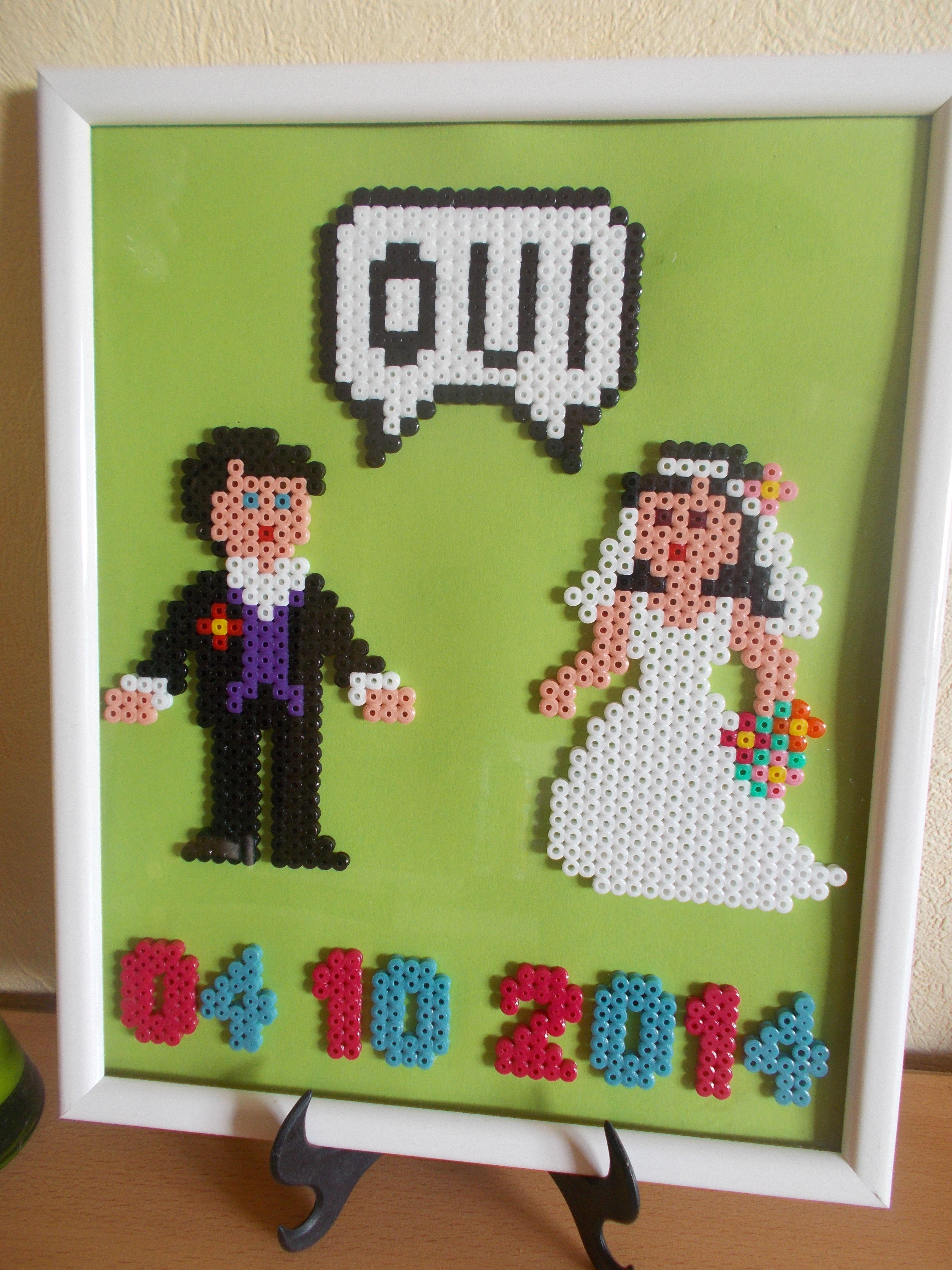 modele perle a repasser mariage