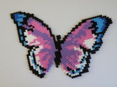 modele perle a repasser papillon