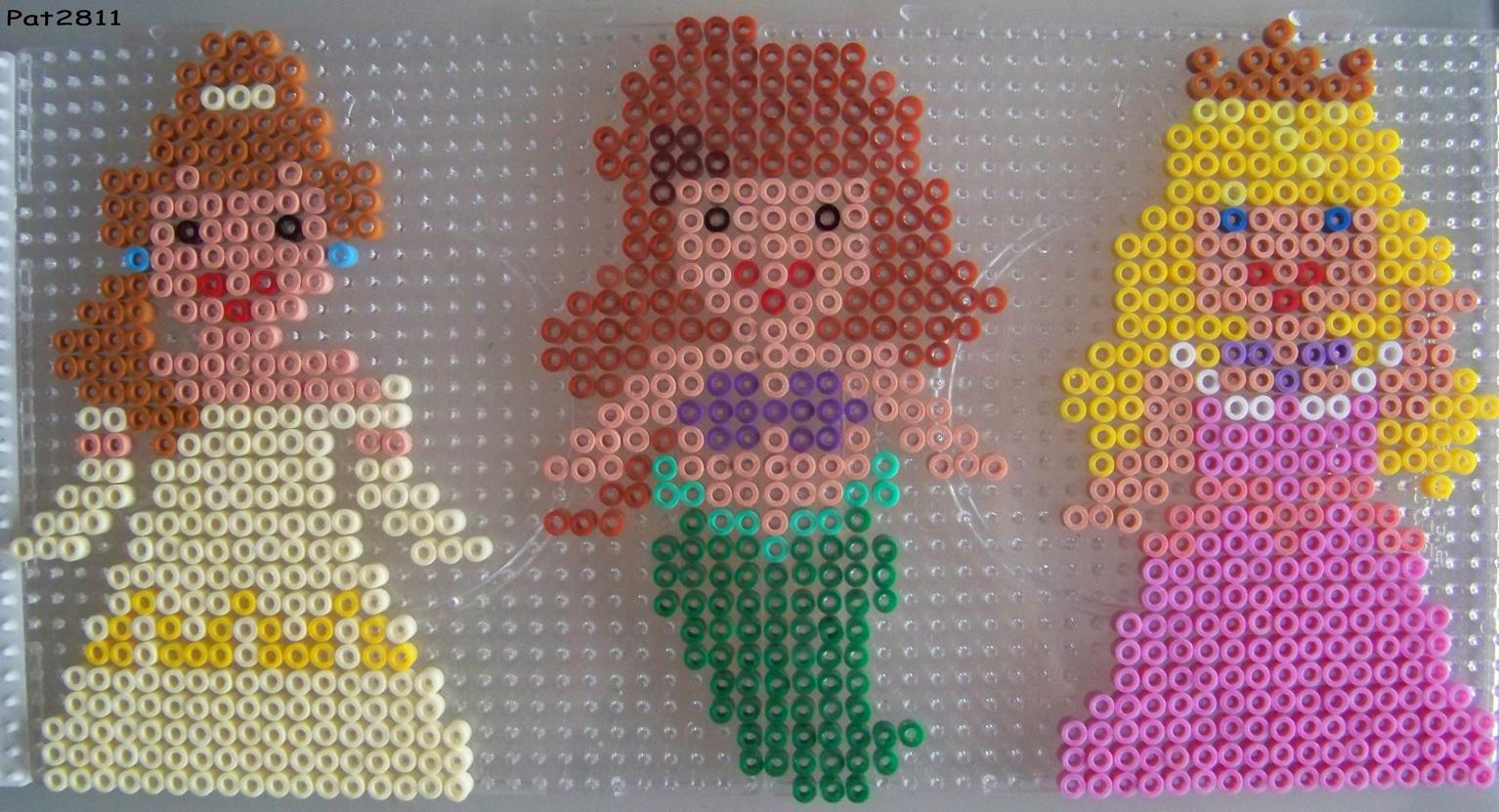 modele perle a repasser princesse disney