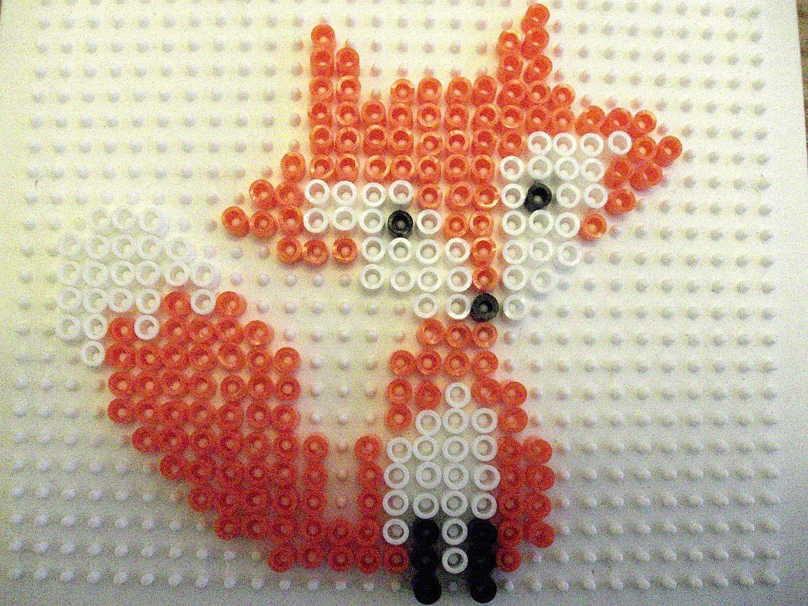 modele perle a repasser renard
