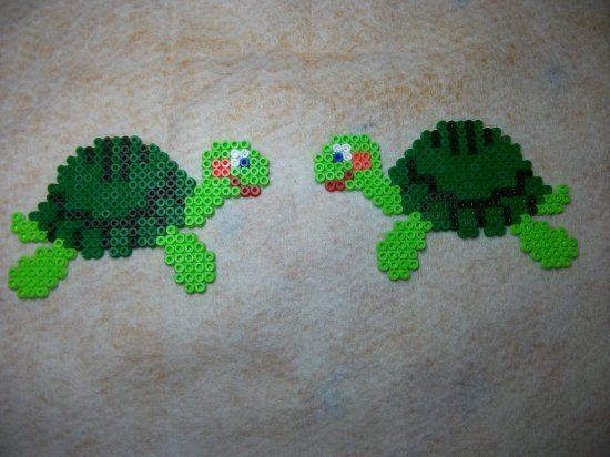 modele perle a repasser tortue