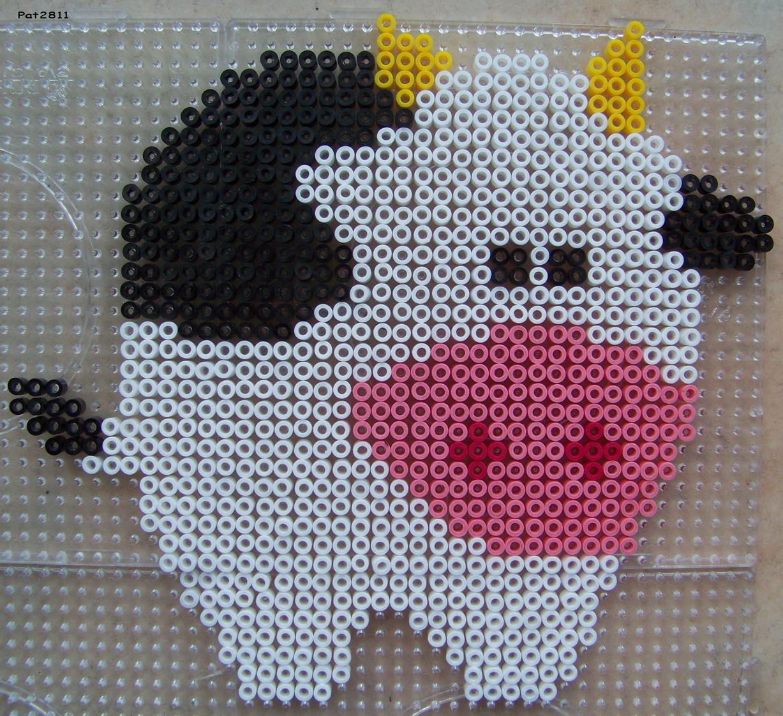 modele perle a repasser vache