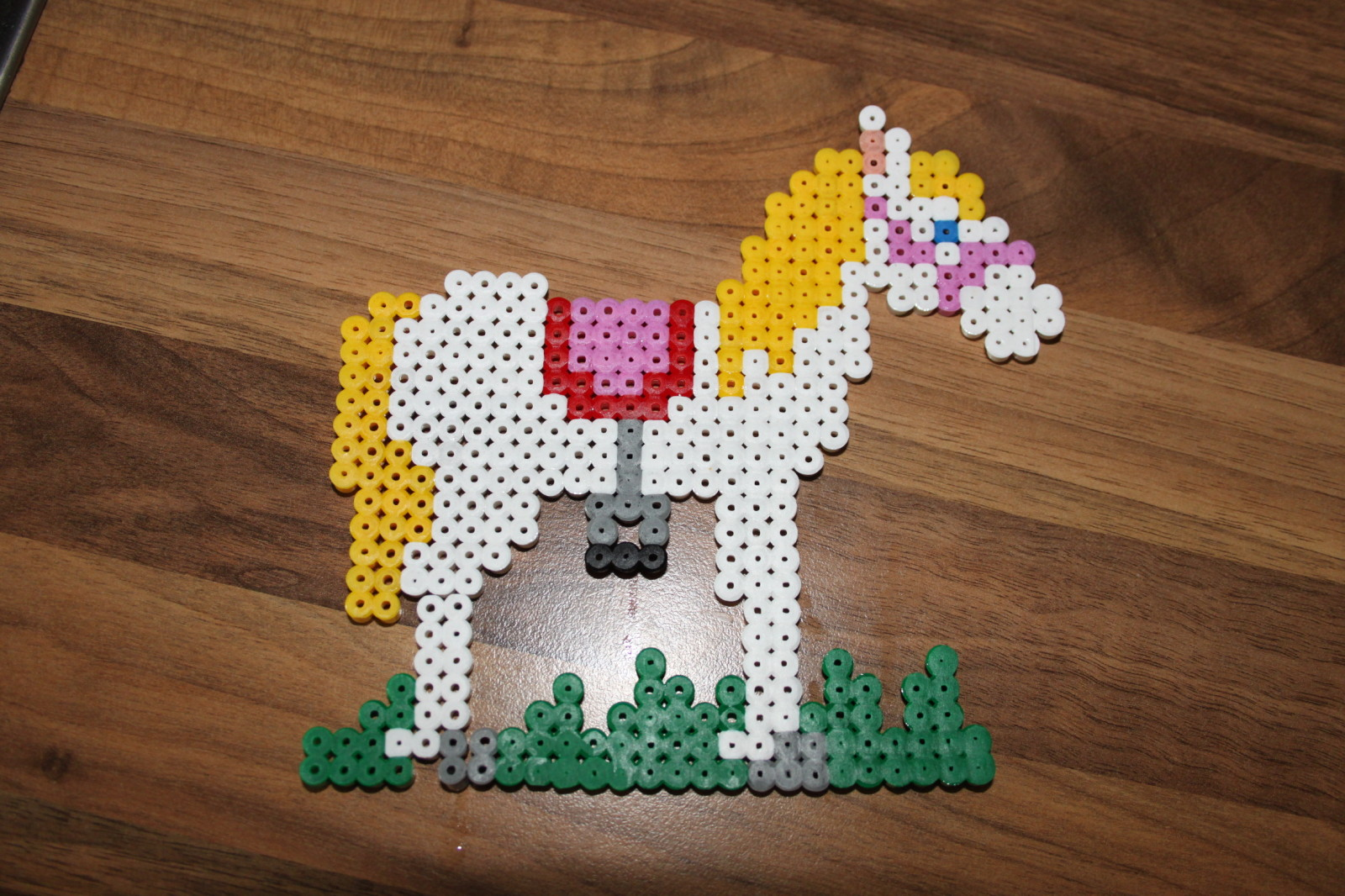 modele perles a repasser cheval