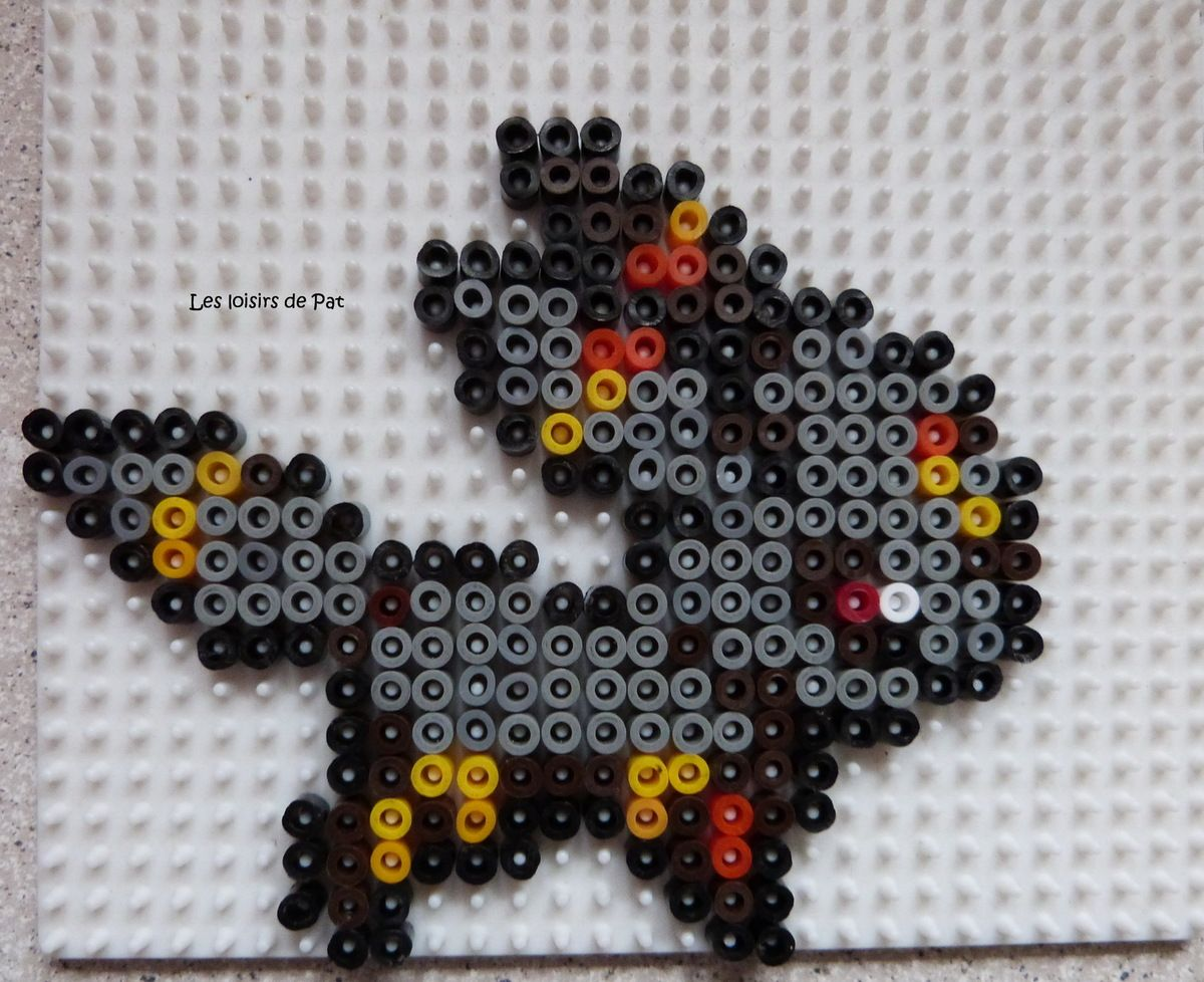 modele perles a repasser pokemon