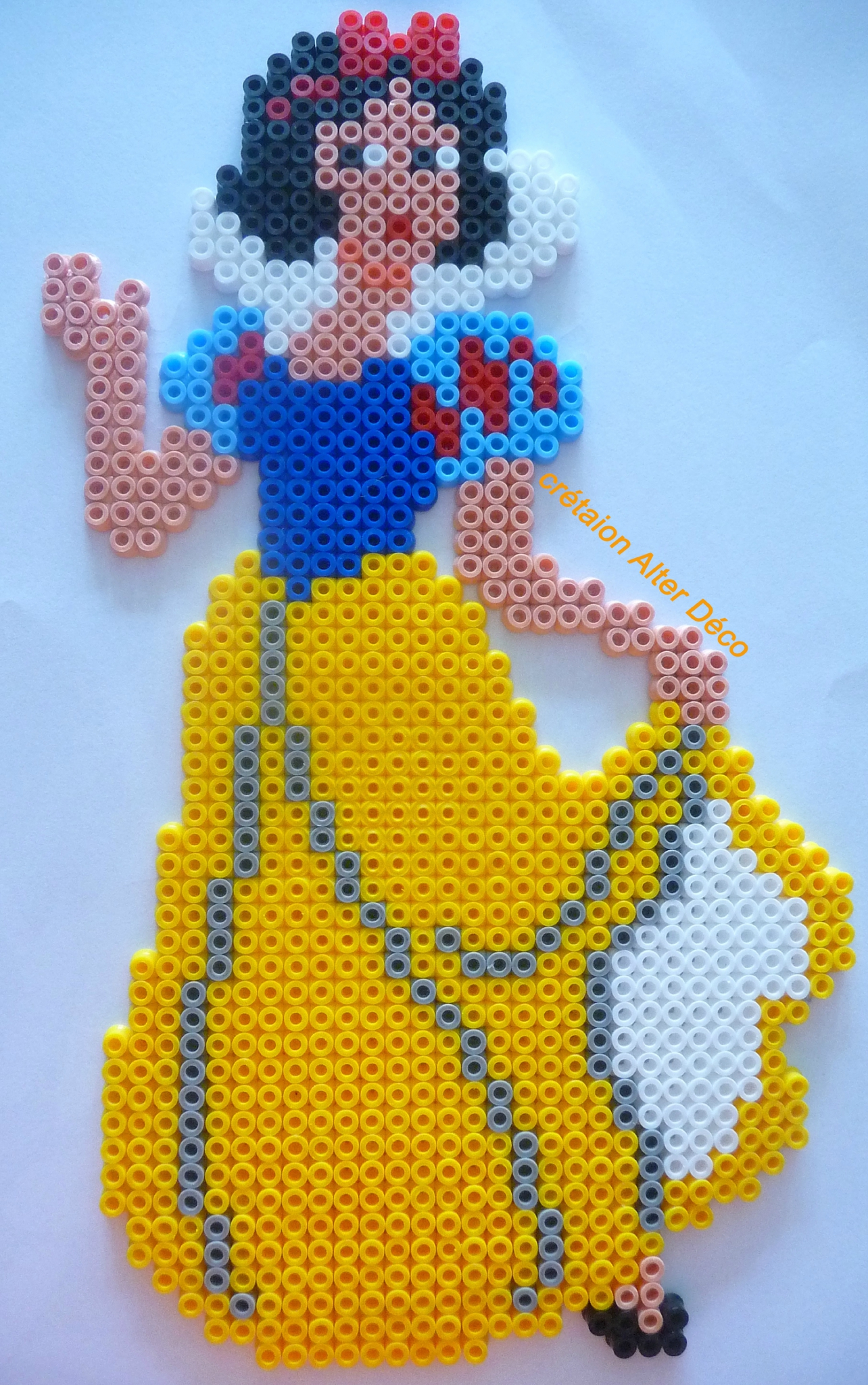perle a repasser blanche neige