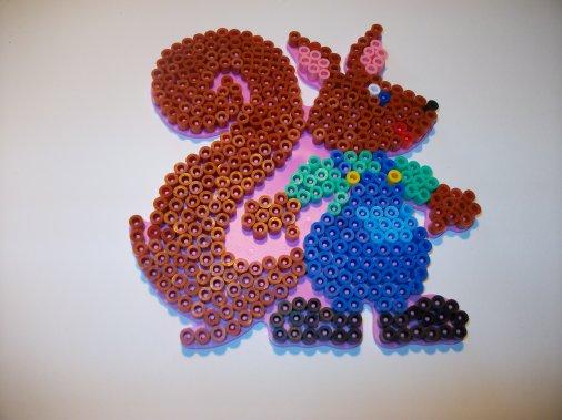 perle a repasser ecureuil