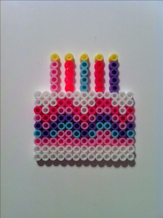 perle a repasser gateau d anniversaire