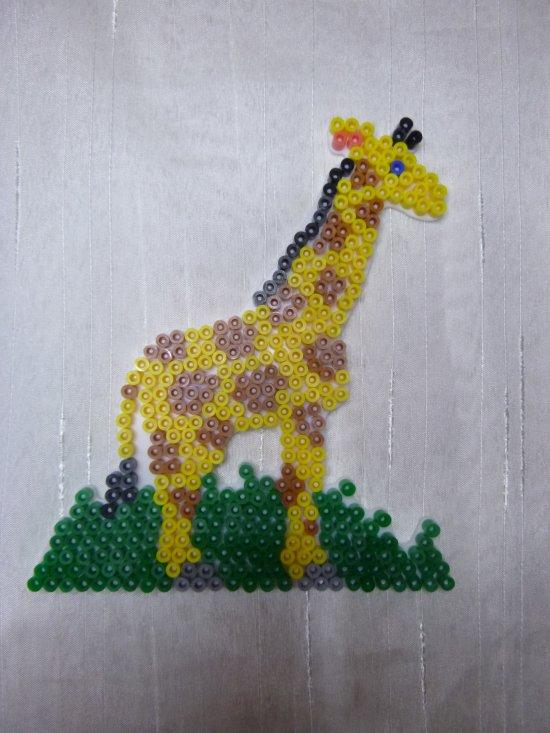 perle a repasser girafe