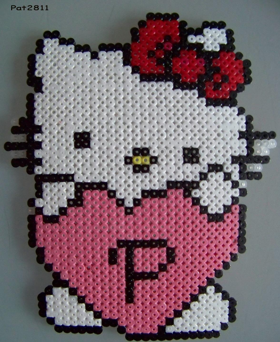perle a repasser hello kitty modele