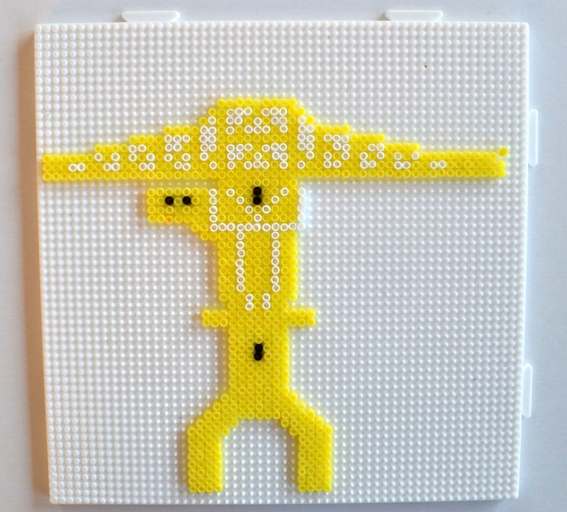 perle a repasser jaune