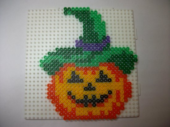 perle a repasser modele halloween