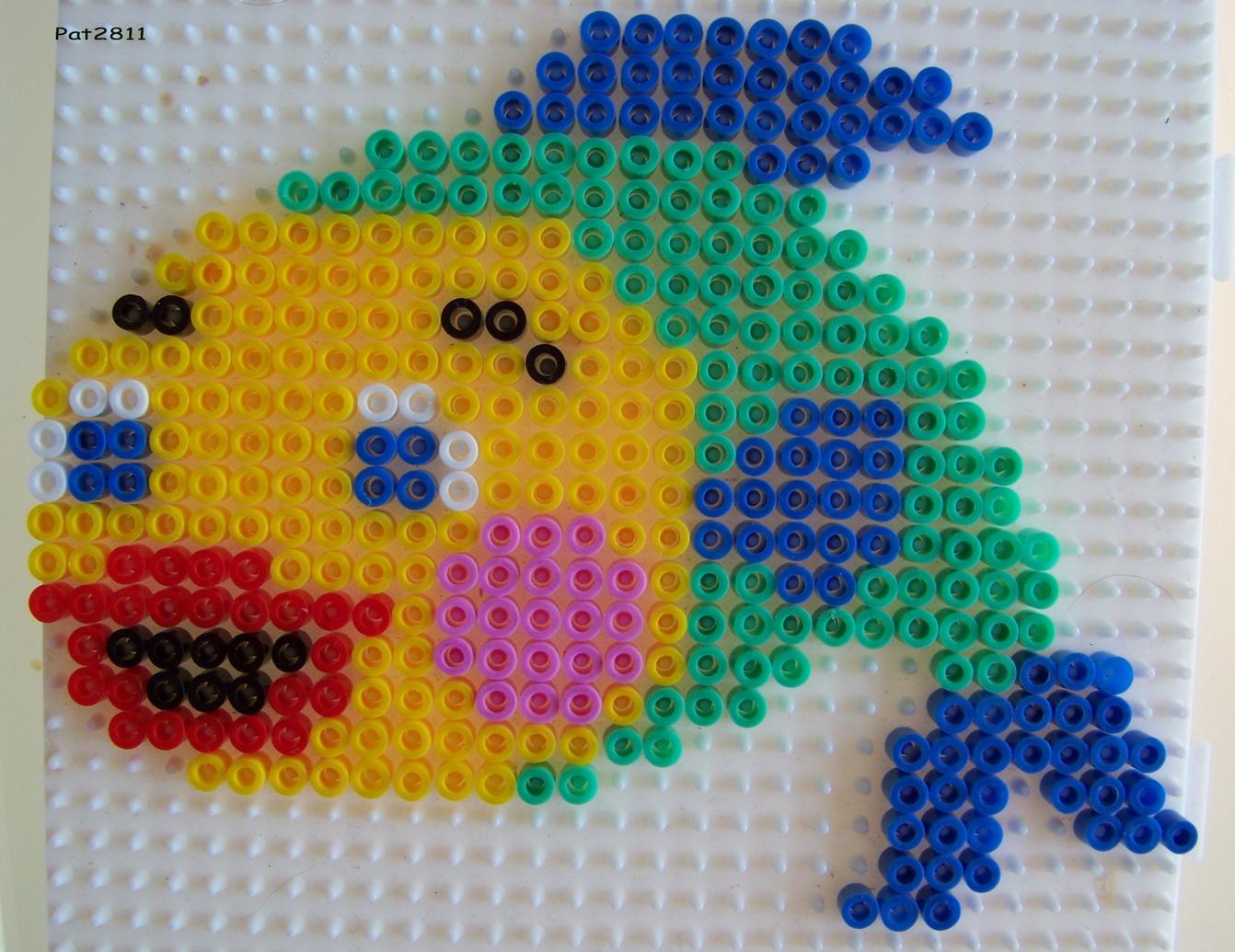 perle a repasser poisson