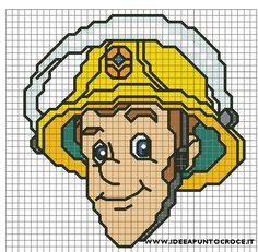 perle a repasser sam le pompier