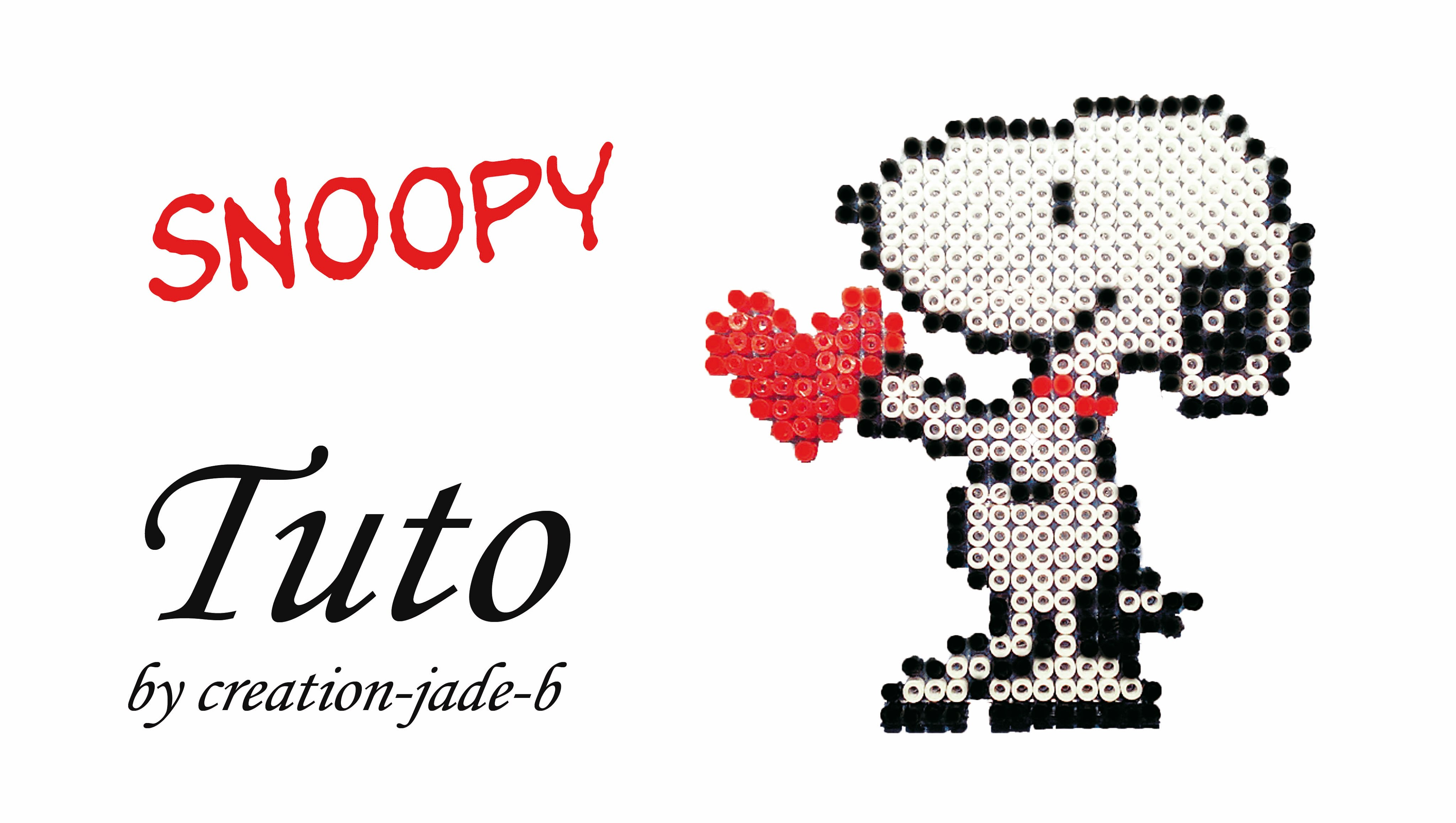 perle a repasser snoopy