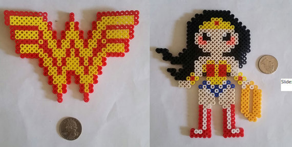 perle a repasser wonder woman