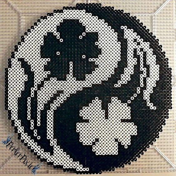 perle a repasser yin yang