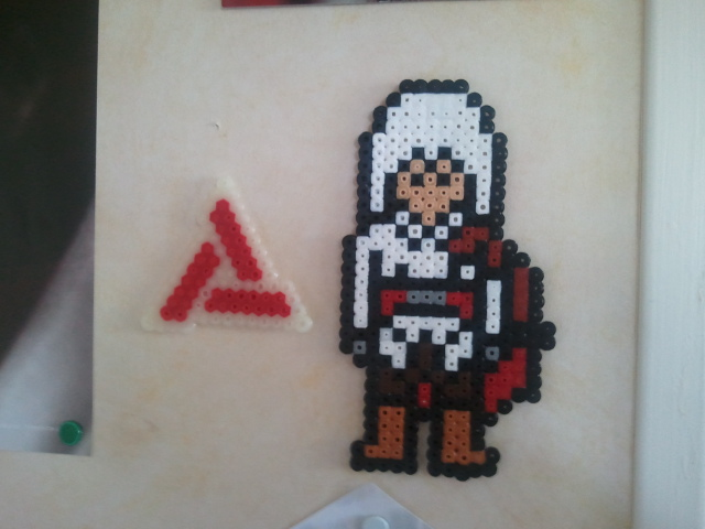 perle hama assassin creed