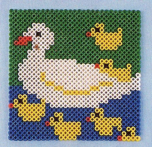 perle hama canard