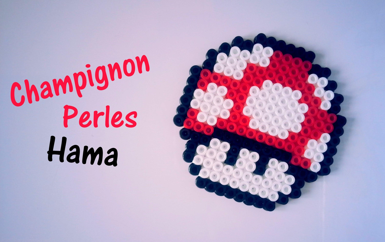 perle hama champignon