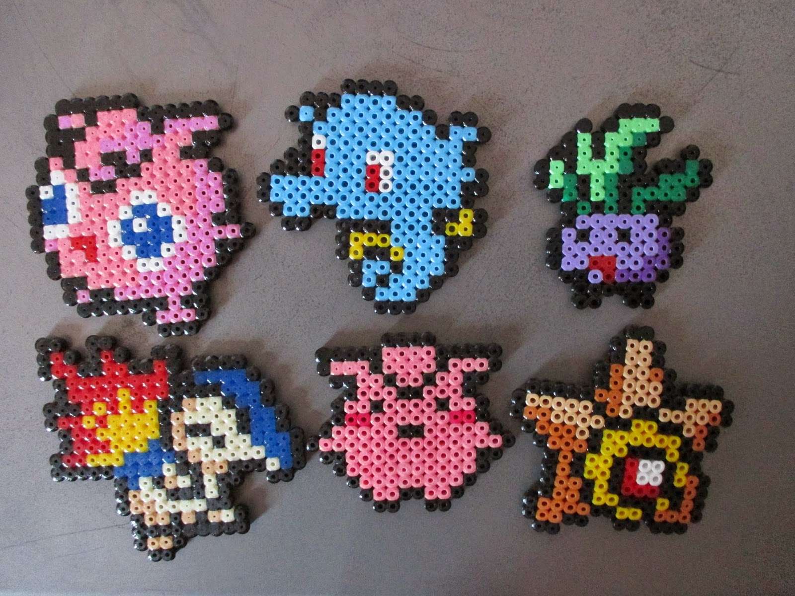 Modele Hama Pokemon