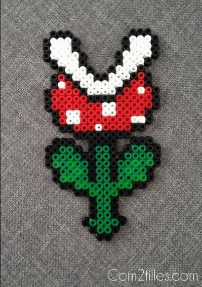 Perle Hama Fleur Mario