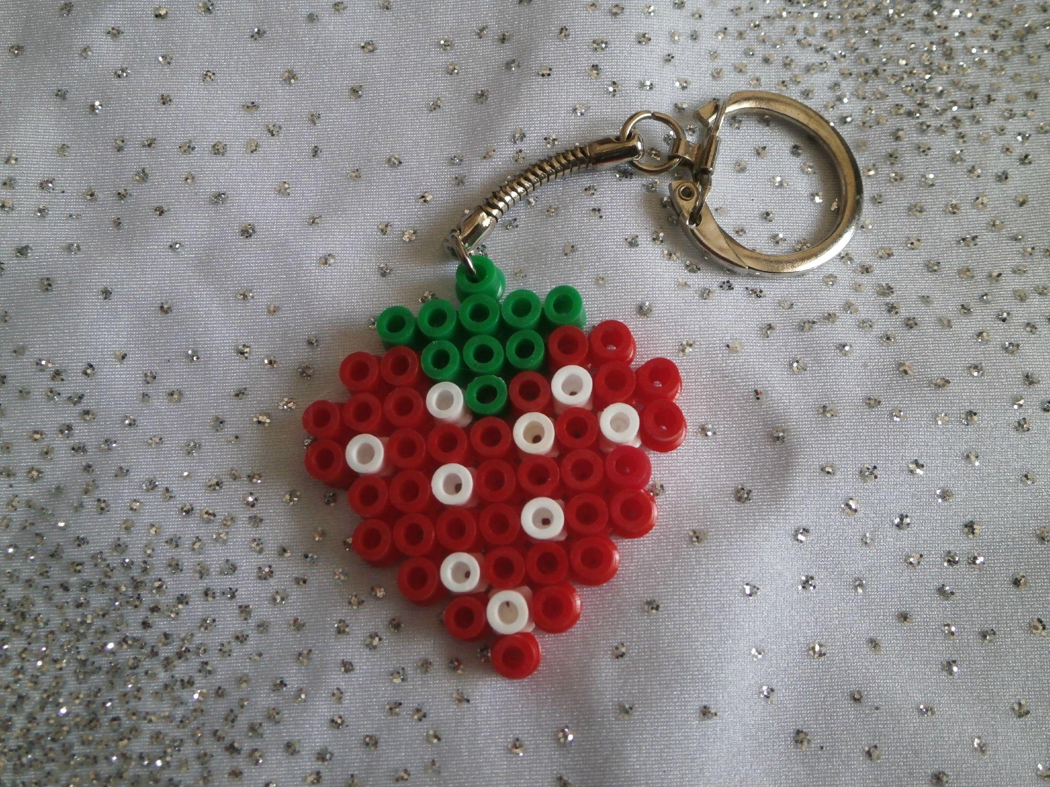 perle hama fraise