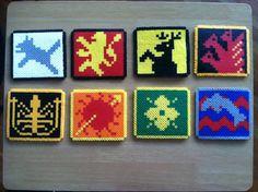 perle hama game of thrones