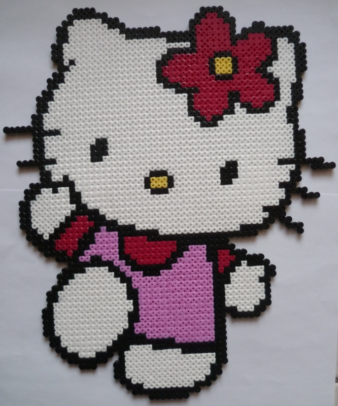 perle hama hello kitty