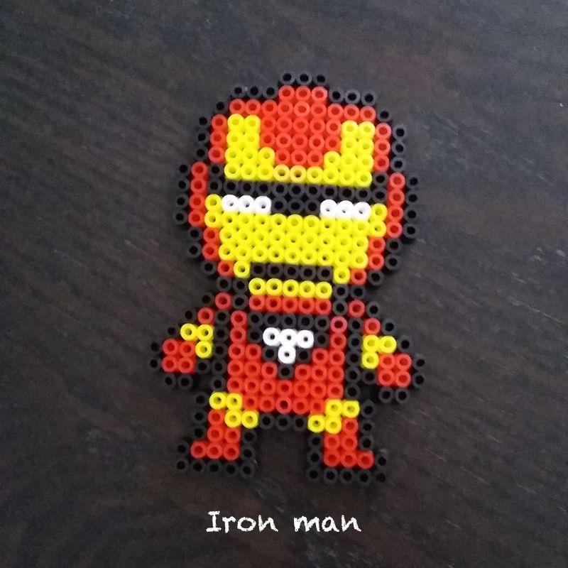 perle hama iron man