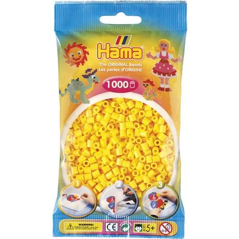 perle hama jaune