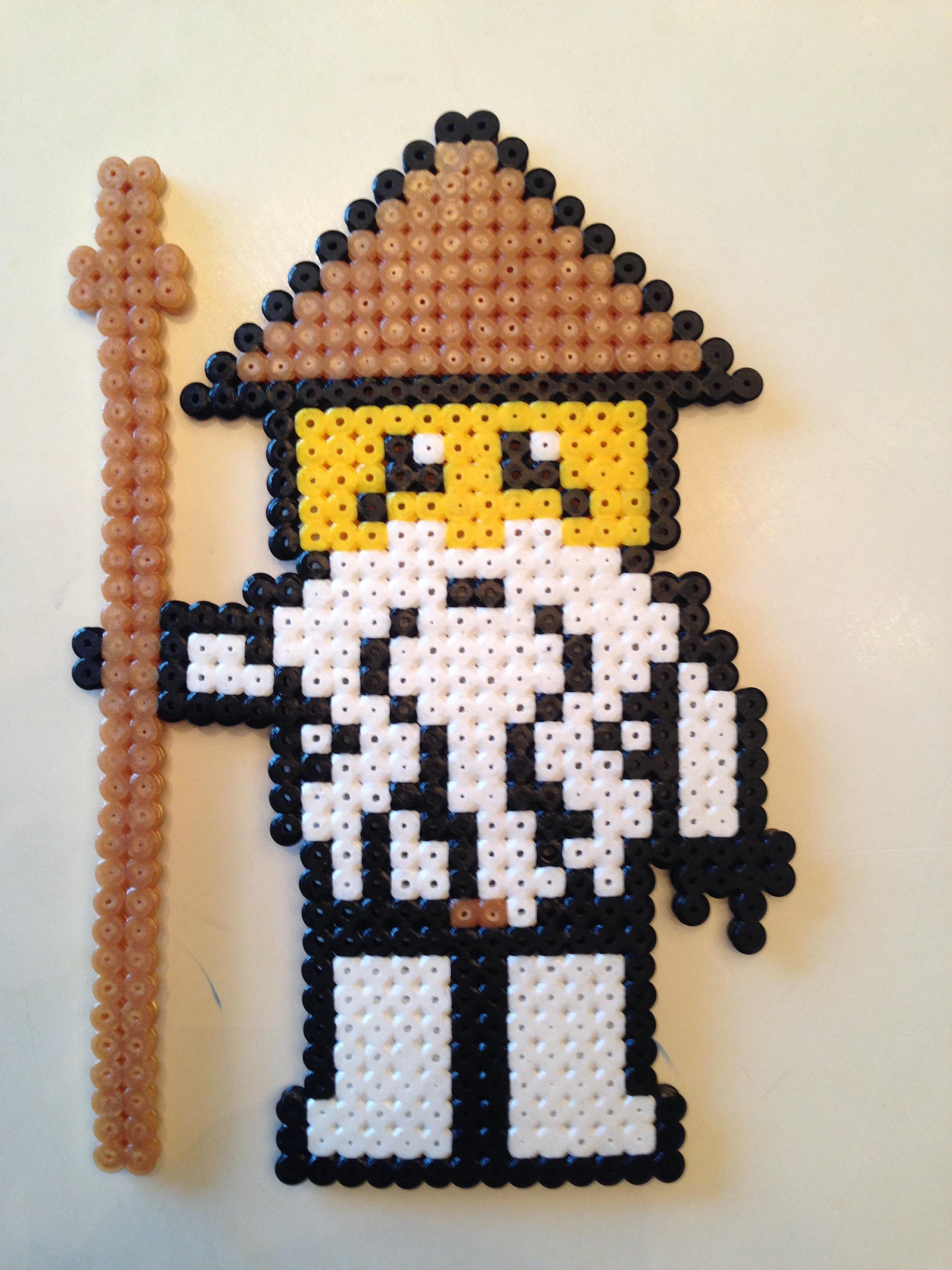 Pixel Art Ninjago Zane