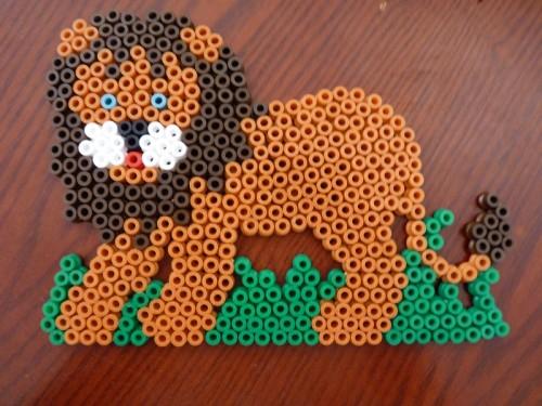 perle hama lion