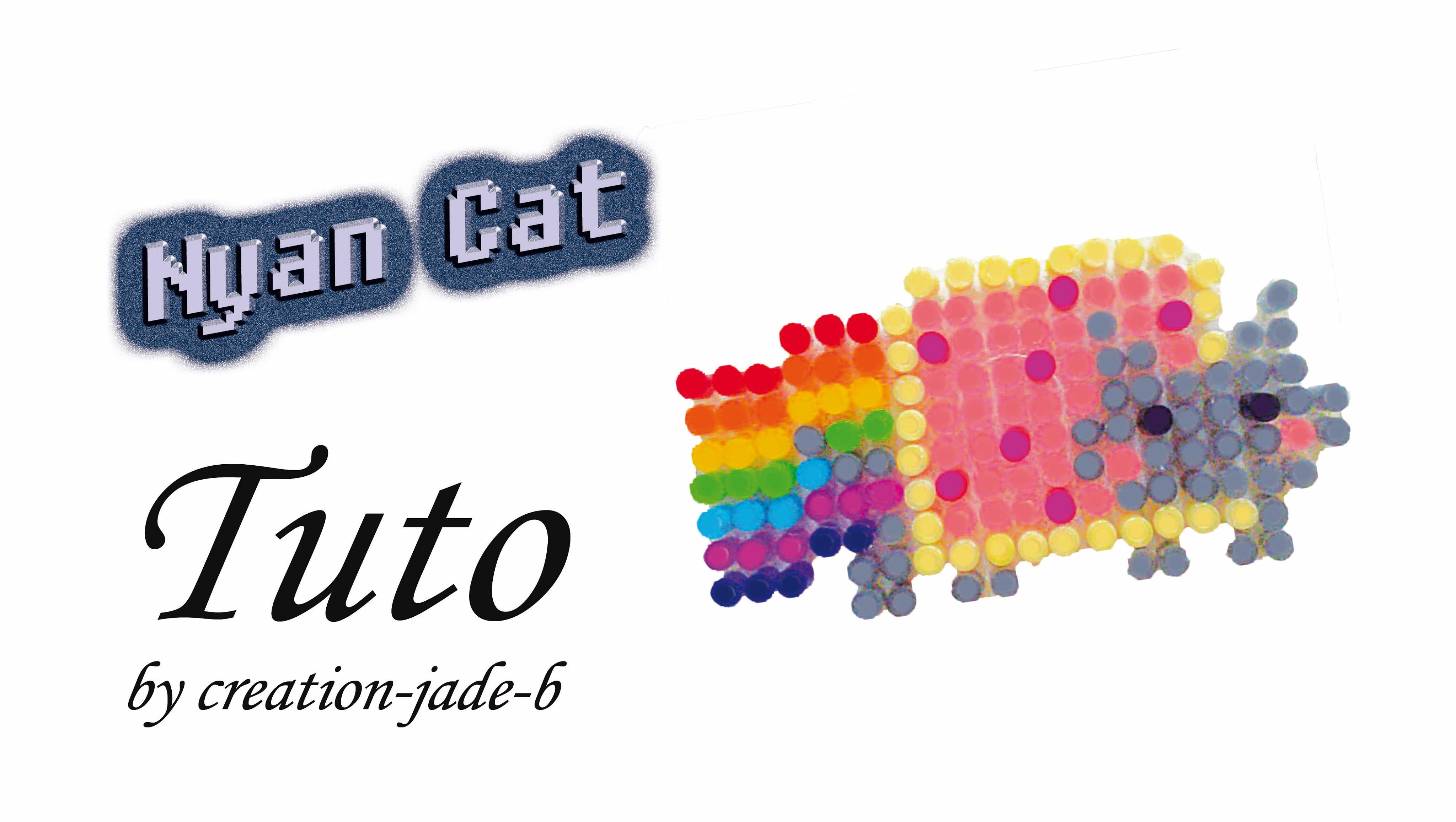perle hama nyan cat