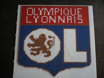perle hama olympique lyonnais