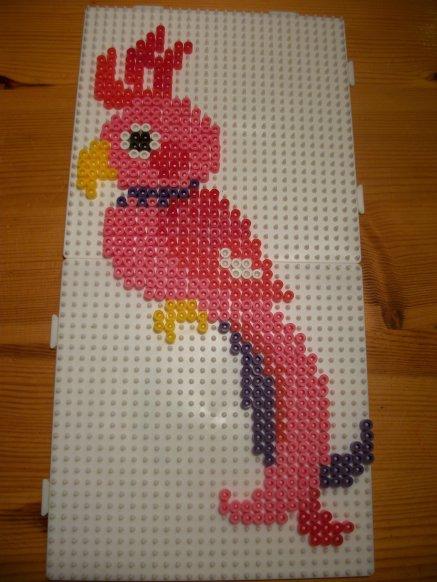 perle hama perroquet