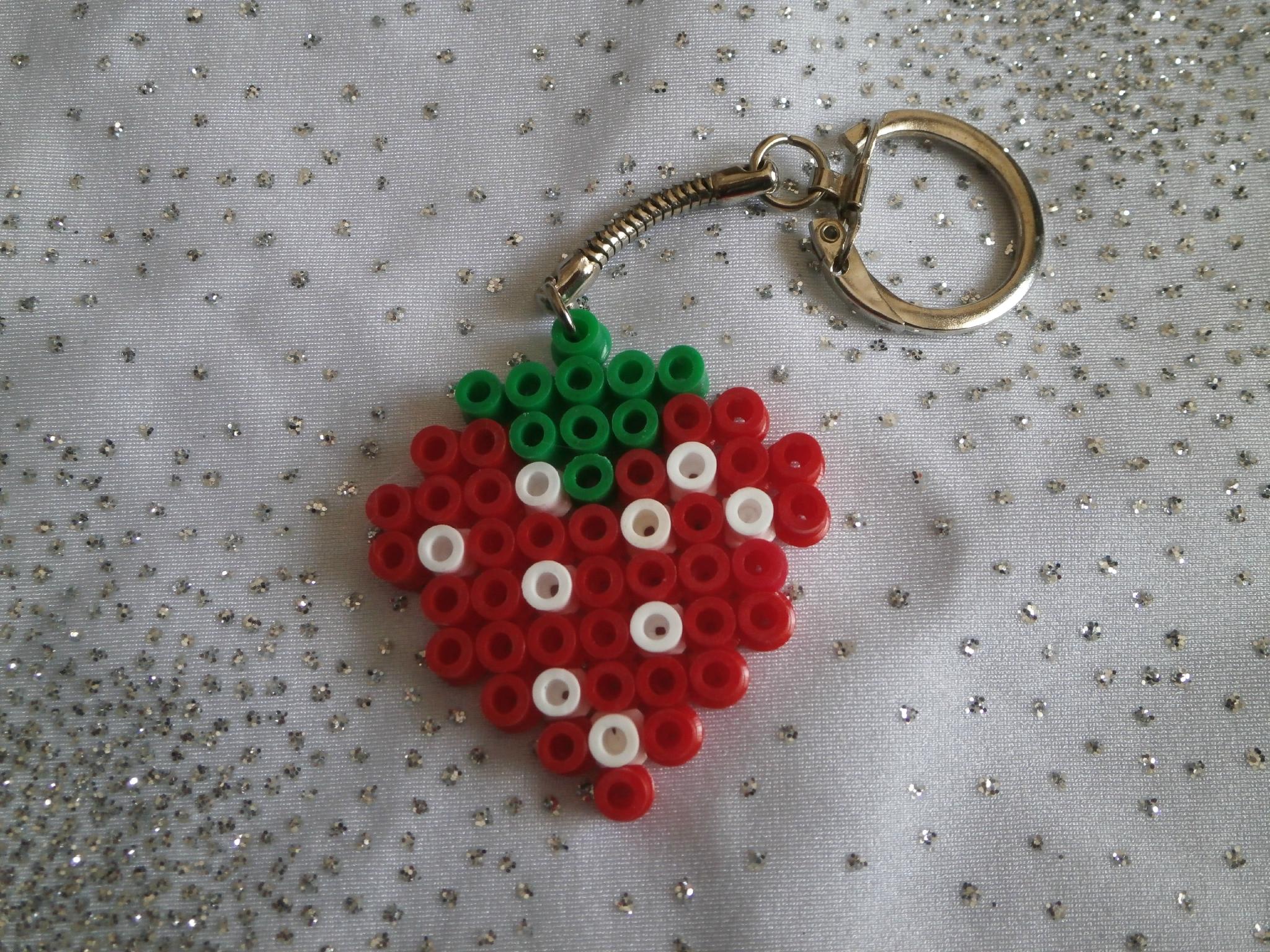 perle hama porte clef