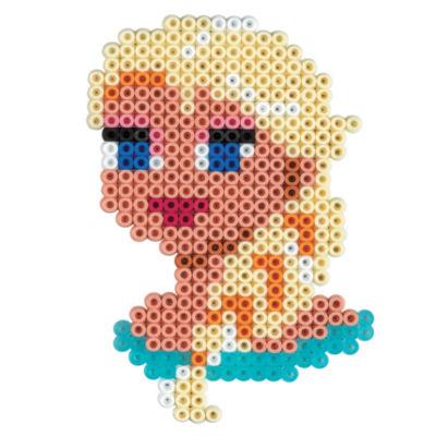 perle hama reine des neiges