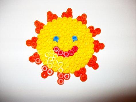 perle hama soleil