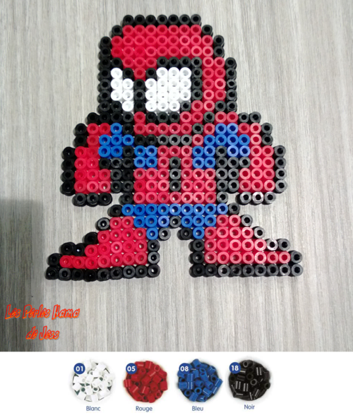 perle hama spiderman