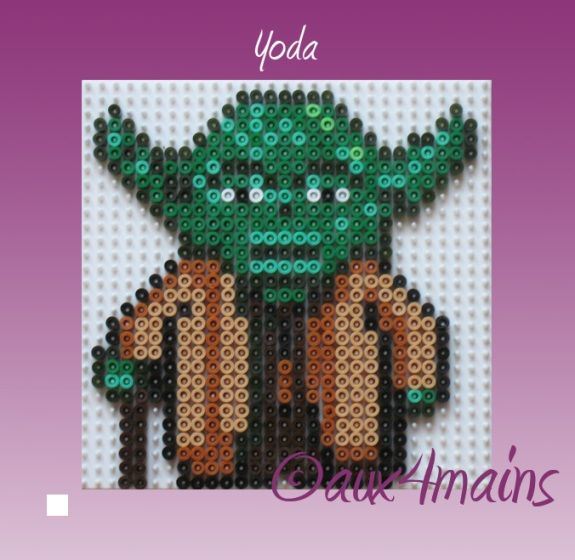 perle hama star wars yoda