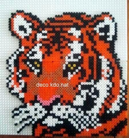perle hama tigre