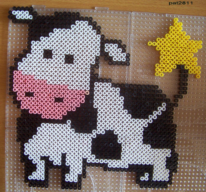 perle hama vache