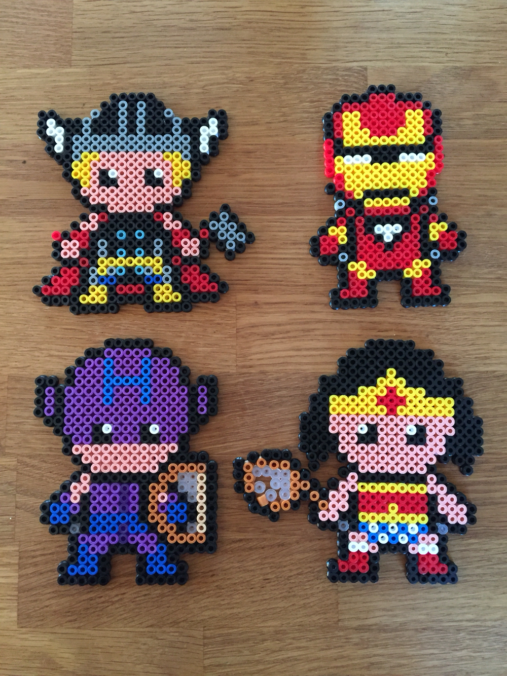 perle hama wonder woman